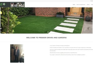 Premier Driveways and Gardens Homepage