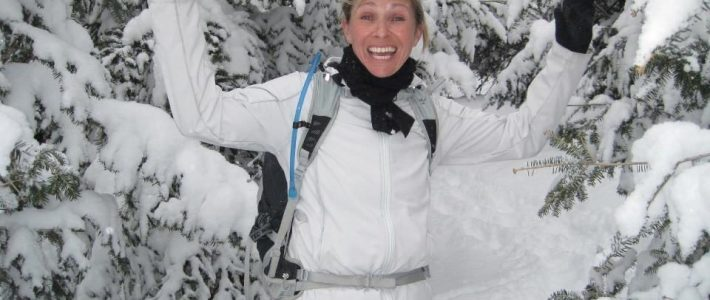 Lynda Dionne Hiking