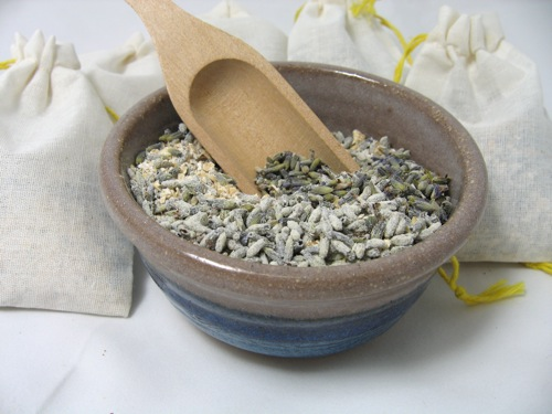 Lavender Bath Mixture and Bags