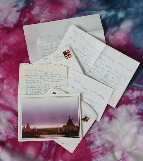 Some of Jenny's letters