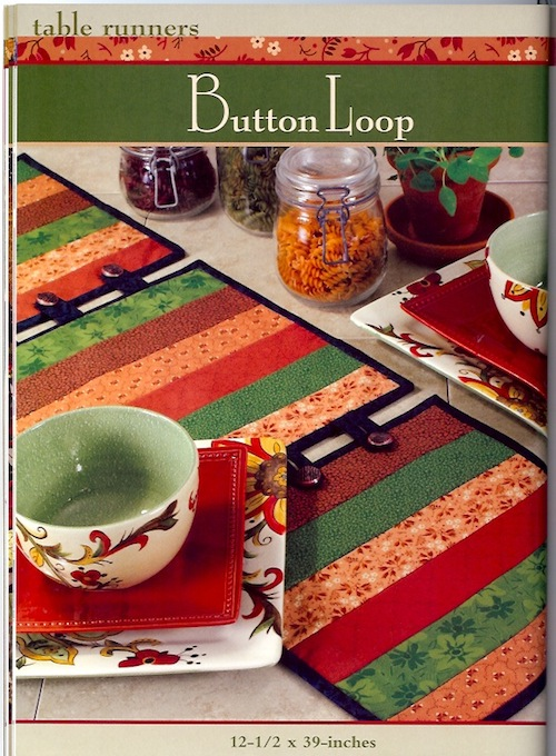 Button Loop Table Runner