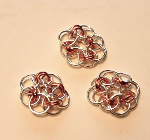Chain Maille Blooms