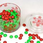Snowflake Candy Dish