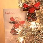 My ornament and card