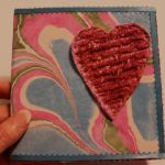Marbled Valentine Card