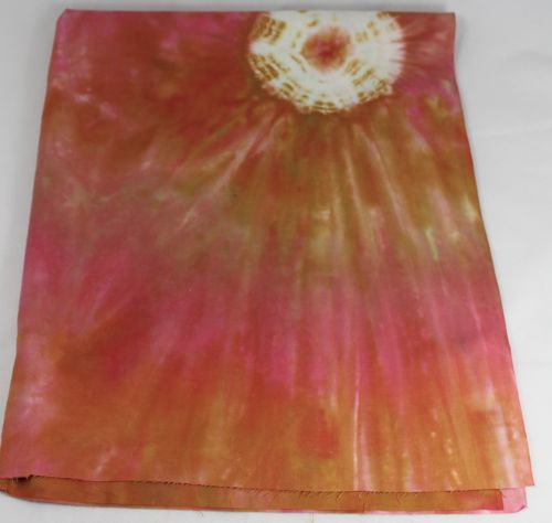 Commercially dyed fabric