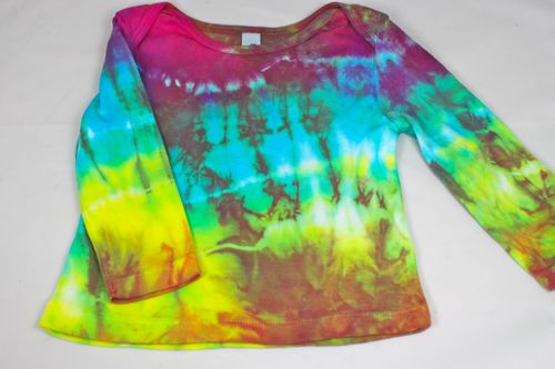 Tie Dyed Long Sleeve 12 - 18 month shirt