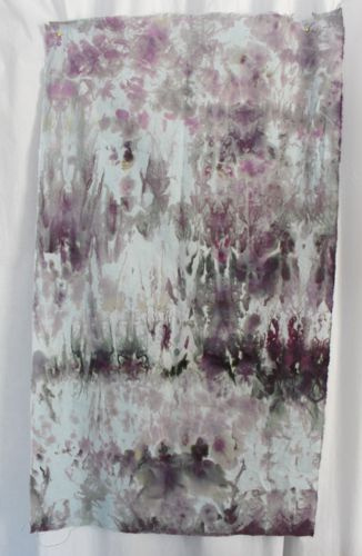 brushed steel dyed fabric