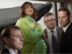 James Heverin, Dame Zaha Hadid, Stuart Fraser, Michael King by Brian Griffin
