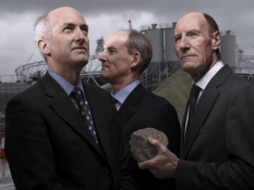 Sir David Higgins, Ian Galloway, Sir John Armitt by Brian Griffin