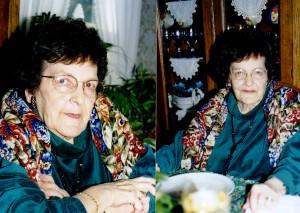 Ida Barton, Christmas 1997.