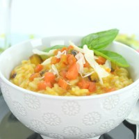 """Dragon Carrot Risotto from """"The Fault in Our Stars"""""""