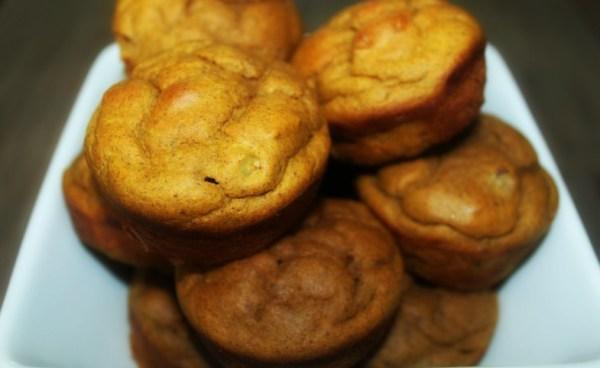 Paleo Pumpkin Protein Muffins