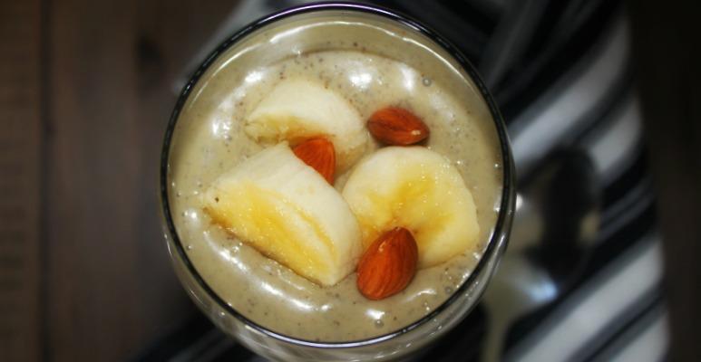 Caramelized Banana Protein Pudding