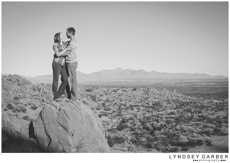 Las Cruces, New Mexico, Desert, Engagement, Session