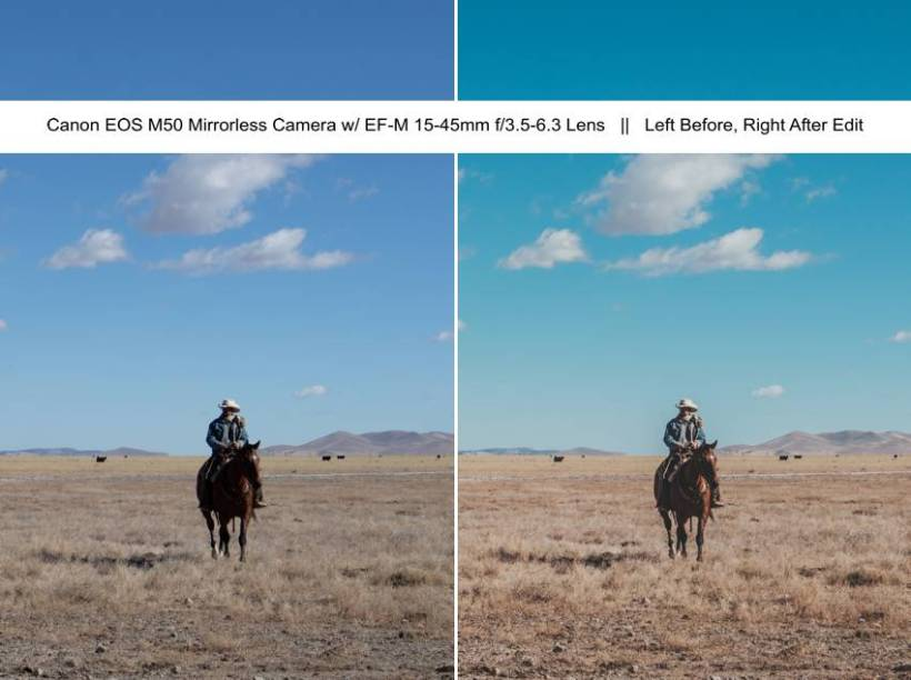 Canon EOS M50 Mirrorless Western Lifestyle, Ranch Life, Everyday Photography