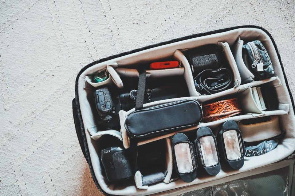 Photography Equipment & Tools in my Gear Bag