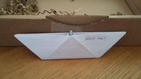 petit bateau papier