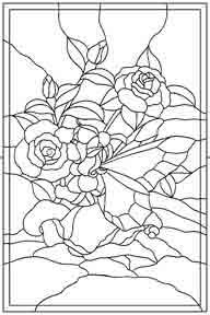pattern titled Wild Rose Pattern