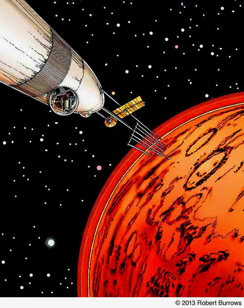 Going to Mars Word by Word; lynettemburrows.com