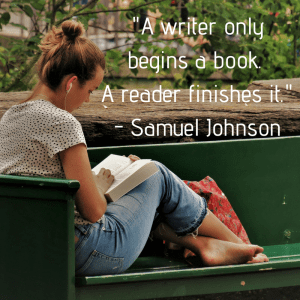 In A Writer only begins a book, Lynette M Burrows discusses what a reader brings to a book. Read more