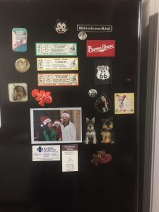 20 weird things I'm grateful for--refrigerator magnets