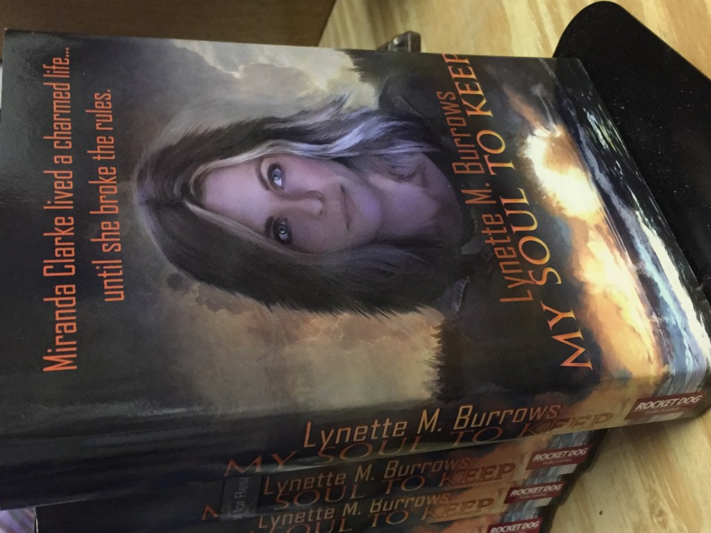Image of hardcover of the book My Soul to Keep by Lynette M. Burrows