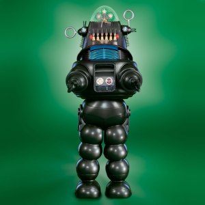 Image of Robby the Robot, one of my virtual rewards to celebrate and win every day