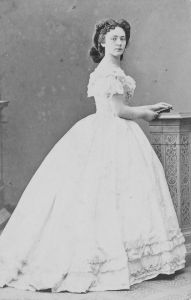 Image of Baroness Bertha Sophie Felicita von Suttner, first female Nobel Peace Prize winner.