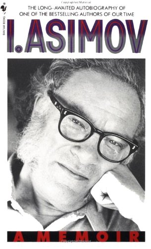 "Image of Isaac Asimov on the cover of his memoir. ""The Last Question"" written by Asimov is reviewed on LynetteMBurrows.com."