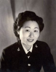 Portrait of The first Asian-American Woman in the Navy, Lt. Susan Ahn Cuddy Courtesy of the Navy