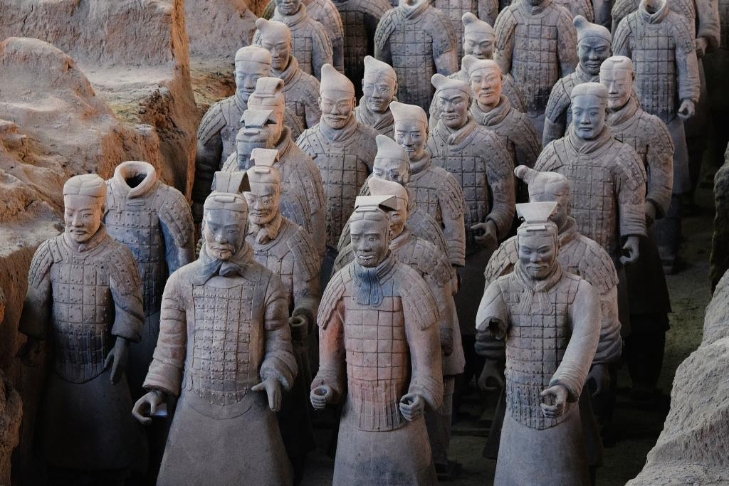 ancient chinese warrior statues why war-is it part of the human condition?