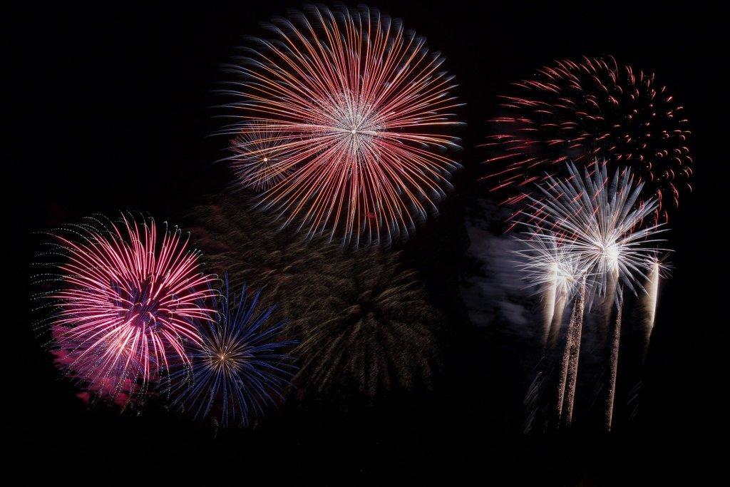 image of fireworks to help me celebrate a sweet milestone.