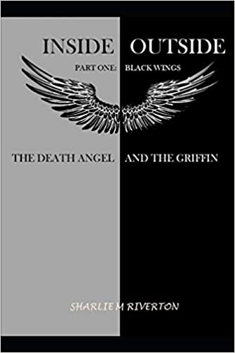 cover image of Inside Outside has wings on a cover half gray and half black-one of the samples of great first lines
