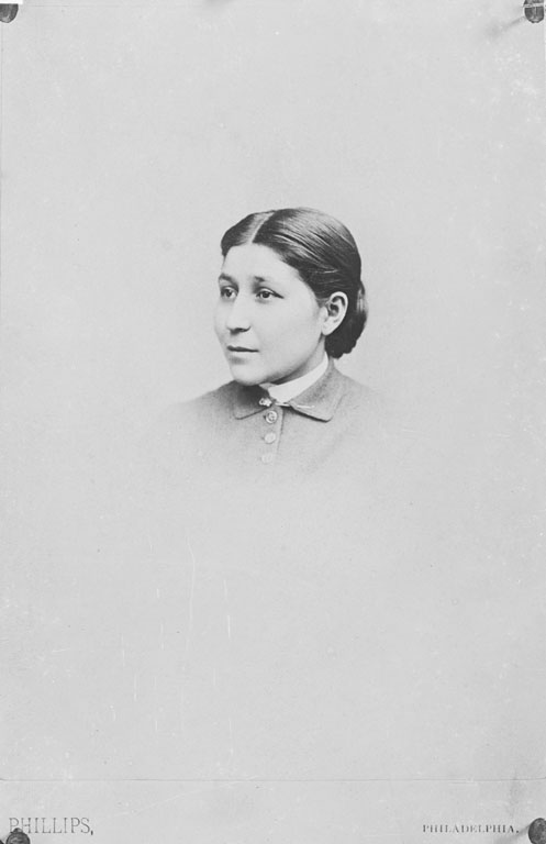 old black and white photo of the Amazing First Native American Woman Doctor, Susan LaFlesche Pinotte