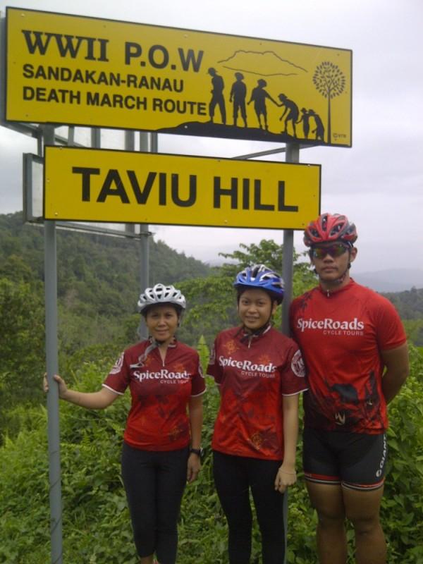 POW sign Taviu hill
