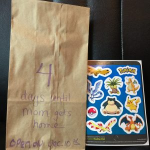 Days Until Mom is Home Gift Bag