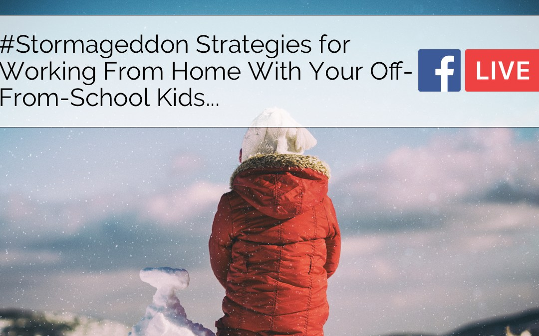 Facebook Live: #Stormageddon Strategies For Working From Home