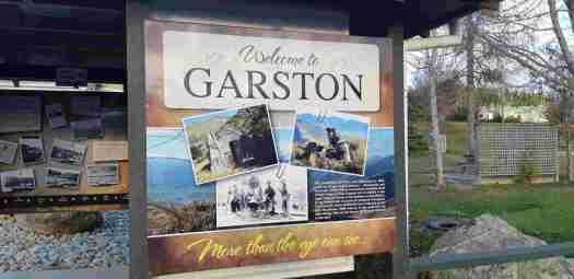 Frontage of the Garston Information Booth at the Garston Green.
