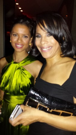 Belle star Gugu Mbatha-Raw with me