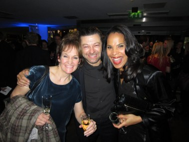 Andy Serkis and his fabulous wife Lorraine Ashbourne