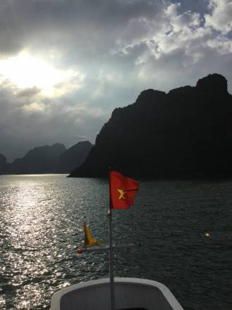 Halong Bay - nevermind what I said about the people. It really is a gorgeous country.