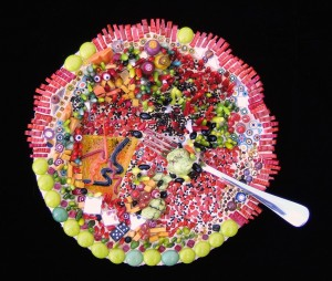 Frilly Food with Seeds