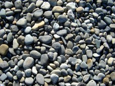 Stones at Newgale Beach, Wales