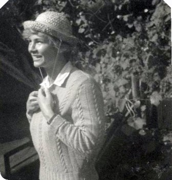 I call this Girl in the Straw Hat - this is my mother - Margaret Marion Laird