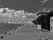 black and white Sant'Elena