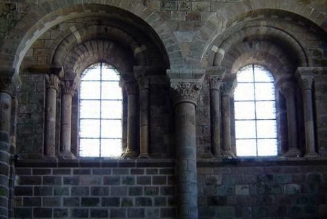 window mont st michel