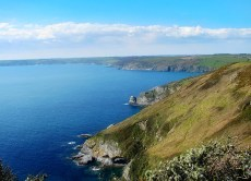 Dodman Point meets the English Channel - England