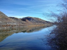 Red Deer River at Drumheller, Alberta