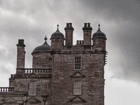 08.21 Drumlanrig Castle, Scotland IMG_0948 sl bw 8x6